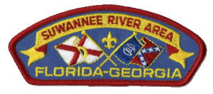 Suwanee River Area Council shoulder patch
