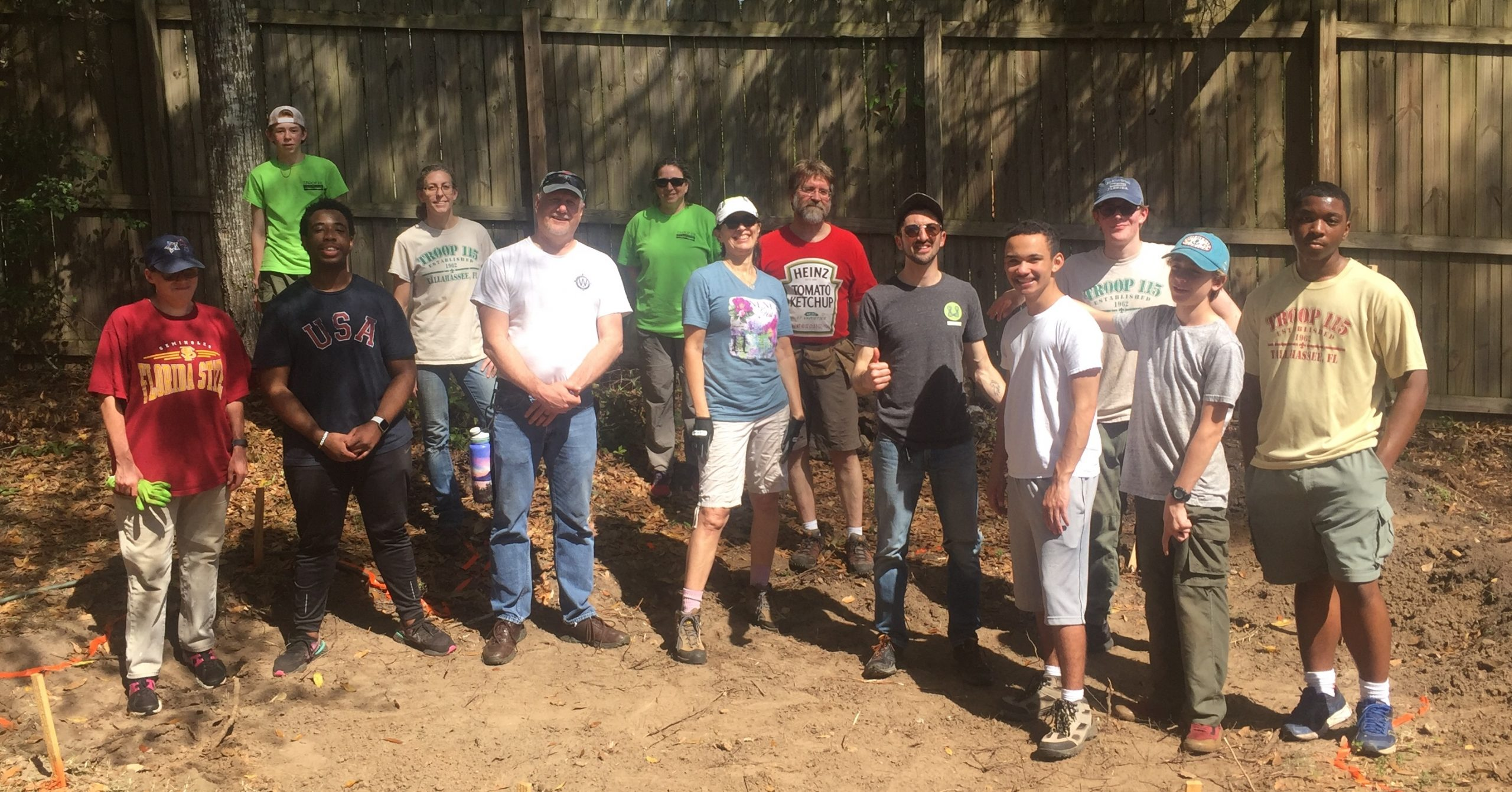 Project crew at The School of Arts and Sciences