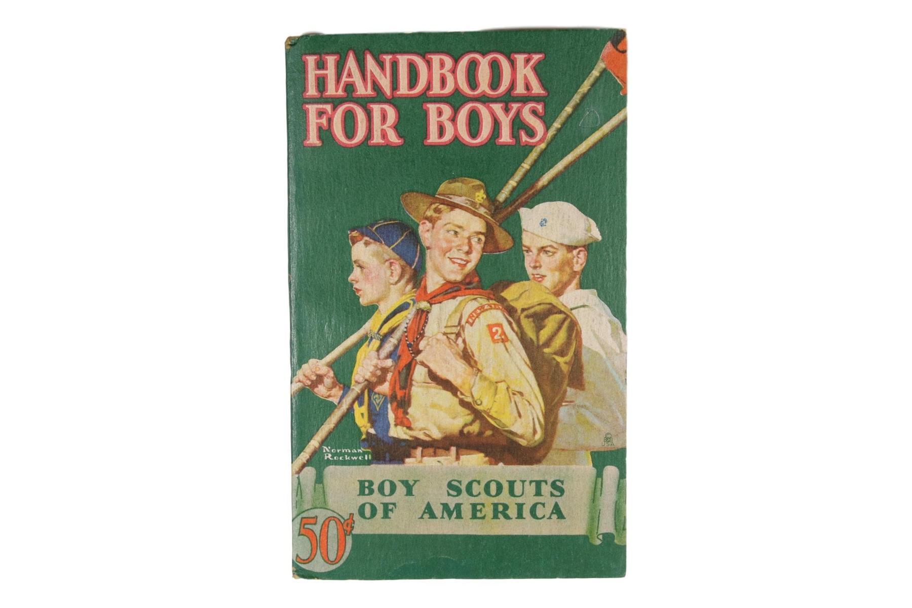 1946 Handbook for Boys